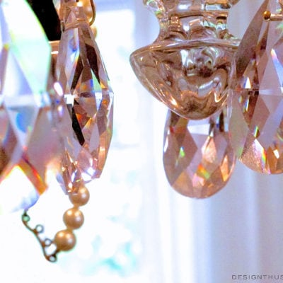 Personalizing a Vintage Chandelier