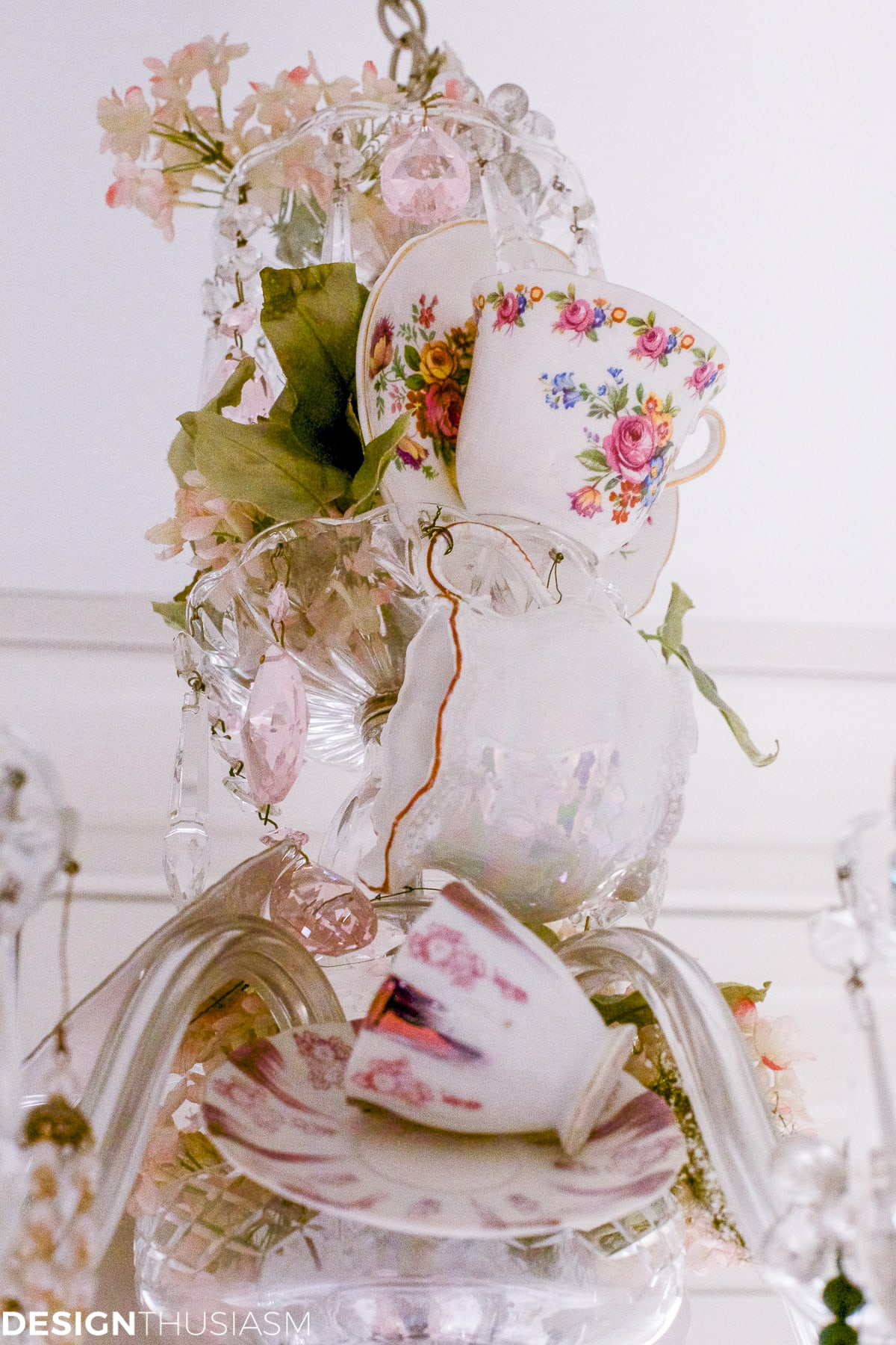 life to make diy a upright chandelier teacup how for