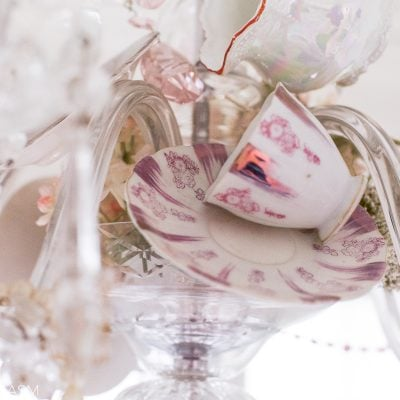 Crystal and Teacups: How to Personalize Your Vintage Chandelier