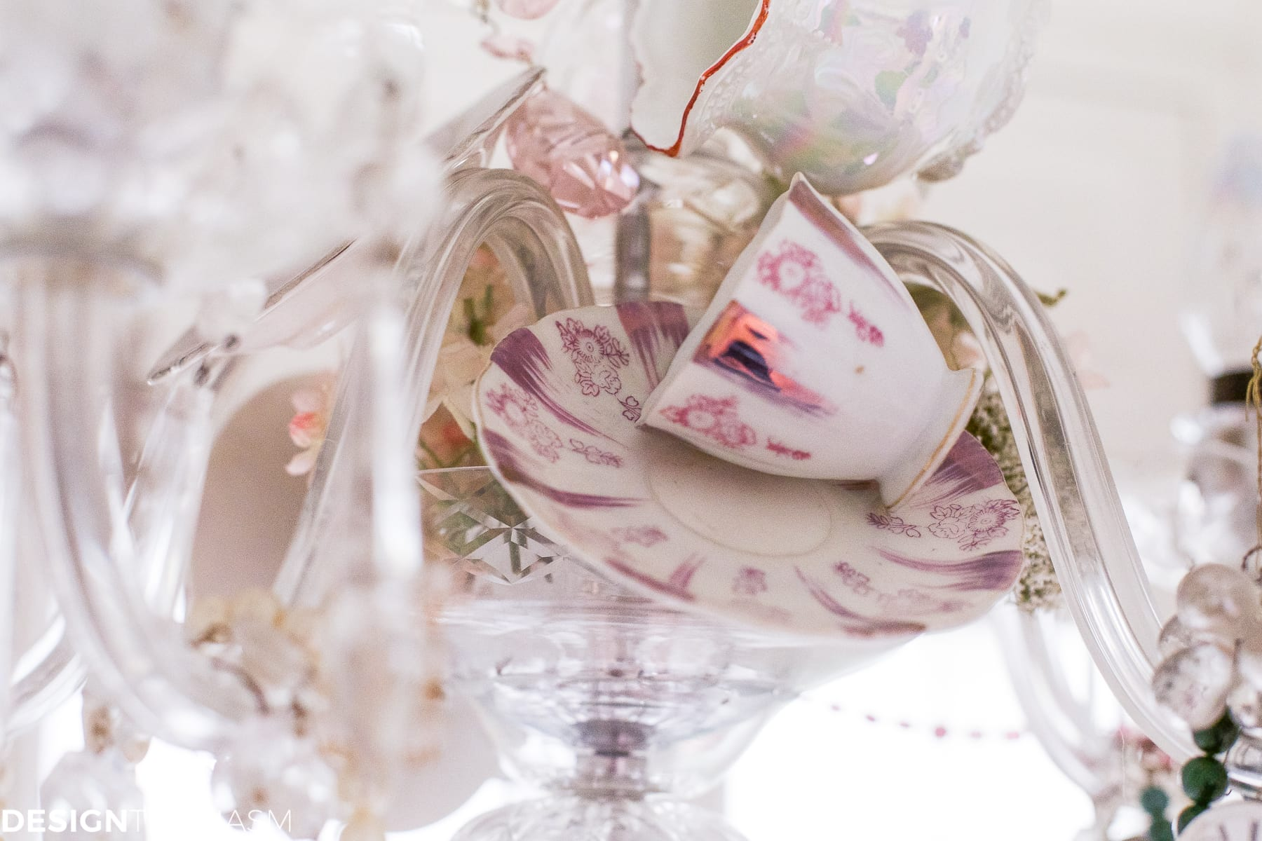 Crystal and teacups how to personalize your vintage chandelier teacup chandelier how to personalize your vintage chandelier designthusiasm arubaitofo Choice Image