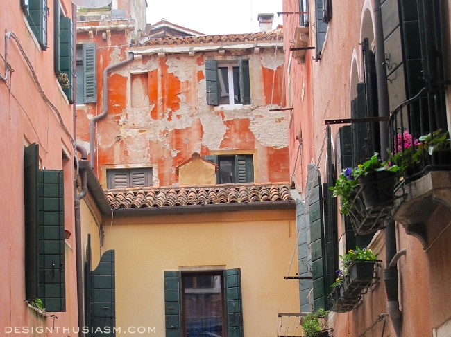 Venice Colorful Courtyard