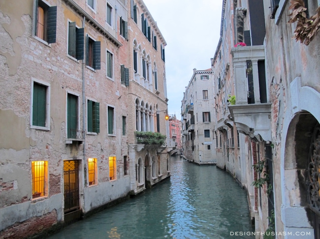 Venice Peach Buildings