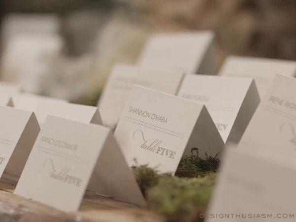 Wedding Escort Card Display
