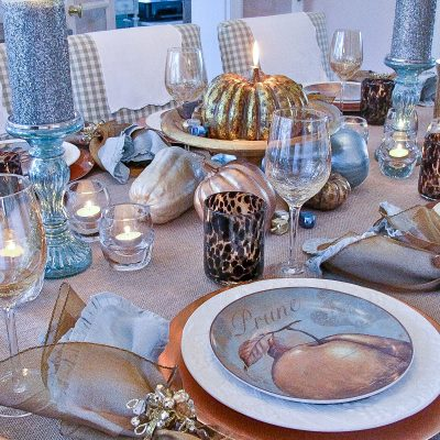 Gourd Crafts: Elegant Inexpensive Thanksgiving Table Decorations