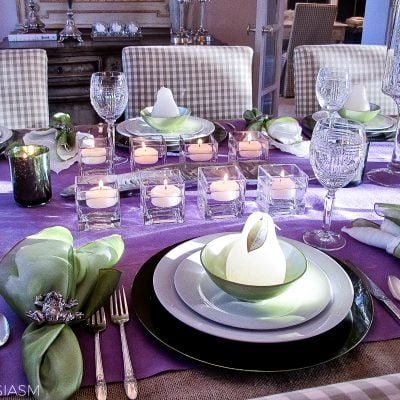 Spring Themed Party: One Secret Element for a Unique Table