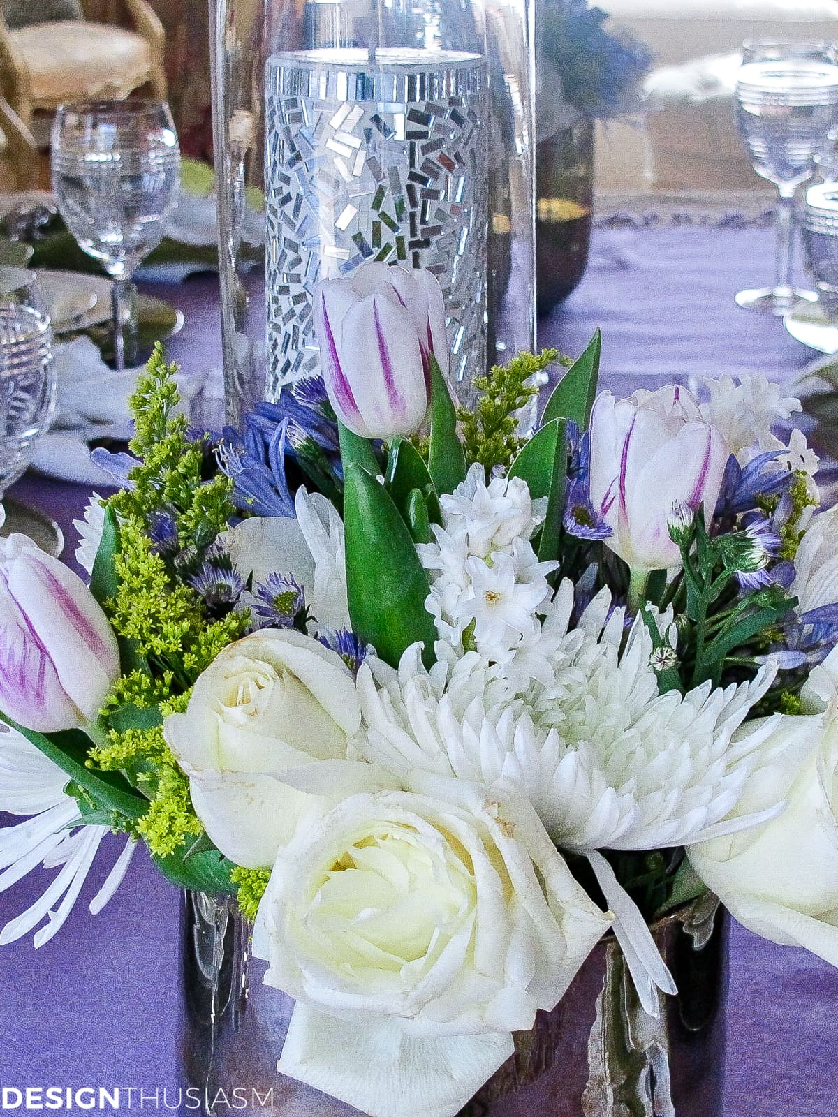 Simple but elegant spring themed party - designthusiasm.com