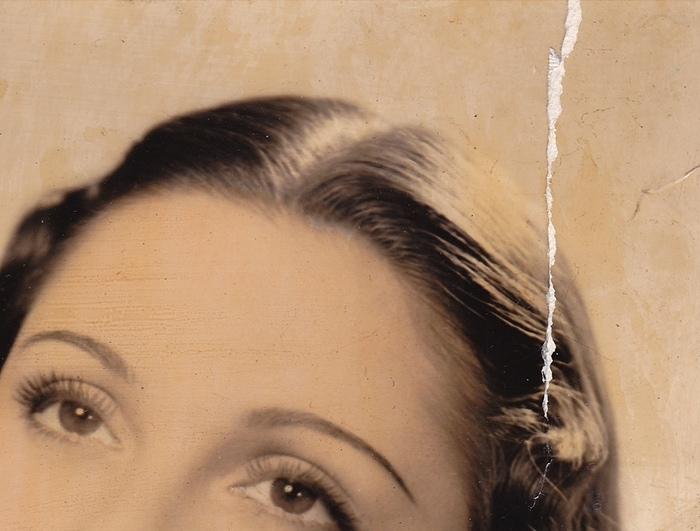 Vintage photo detail