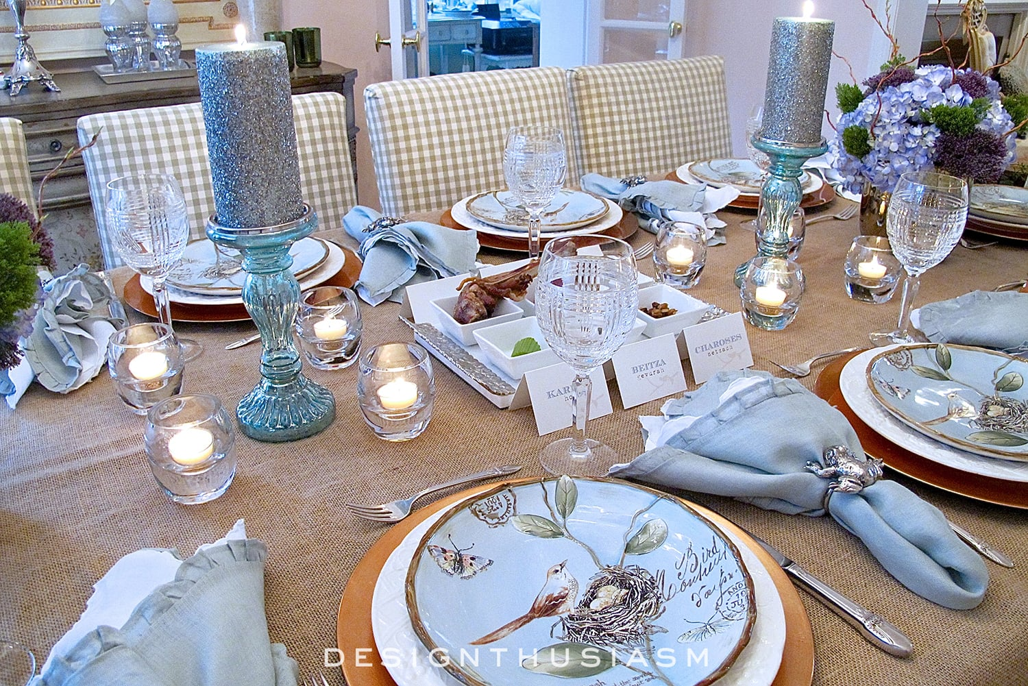 Springy Seder A Nature Inspired Spring Table Setting