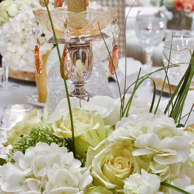 New Years Eve Party Themes: Tablescape with Timepieces