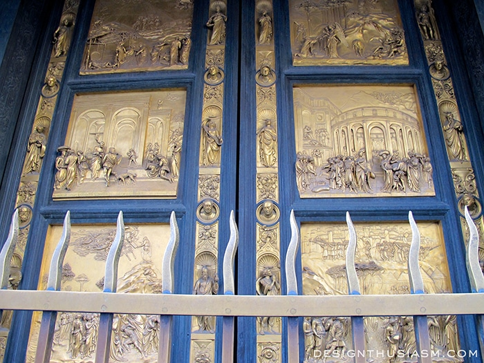 The Baptistry Doors, Il Duomo - Florence, Italy