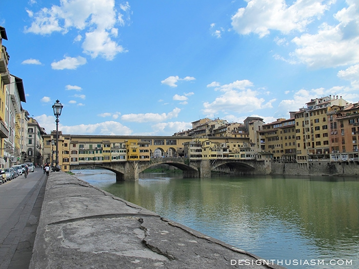 The Ponte Vecchio - Florence, Italy