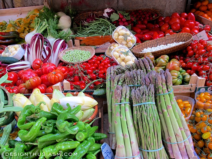 Vegetable Market - Florence, Italy
