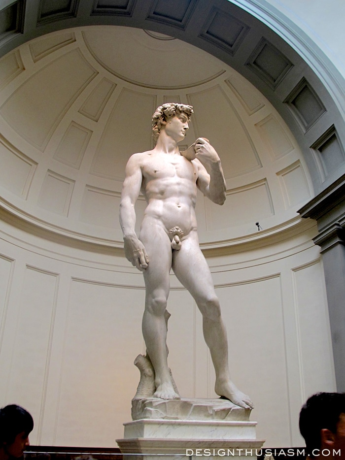 Galleria dell'Accademia, Michelangelo's David - Florence, Italy