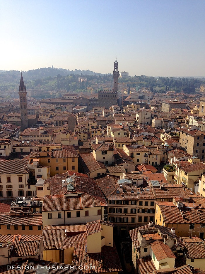 View from Il Duomo - Florence, Italy