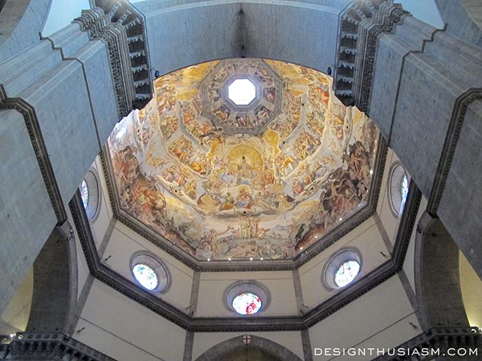 Vasari's fresco, Brunelleschi's Cupola - Florence, Italy