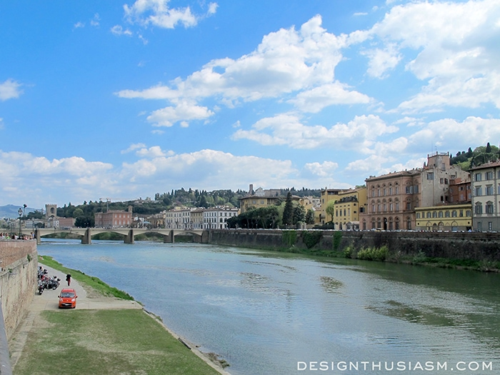 The Arno - Florence, Italy
