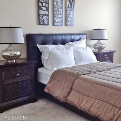 Bachelor Pad Decor Part 3: Classic Mens Bedroom Ideas