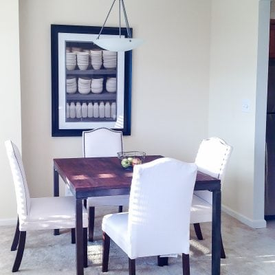 Bachelor Apartment Part 2: Chic Small Dining Room Ideas