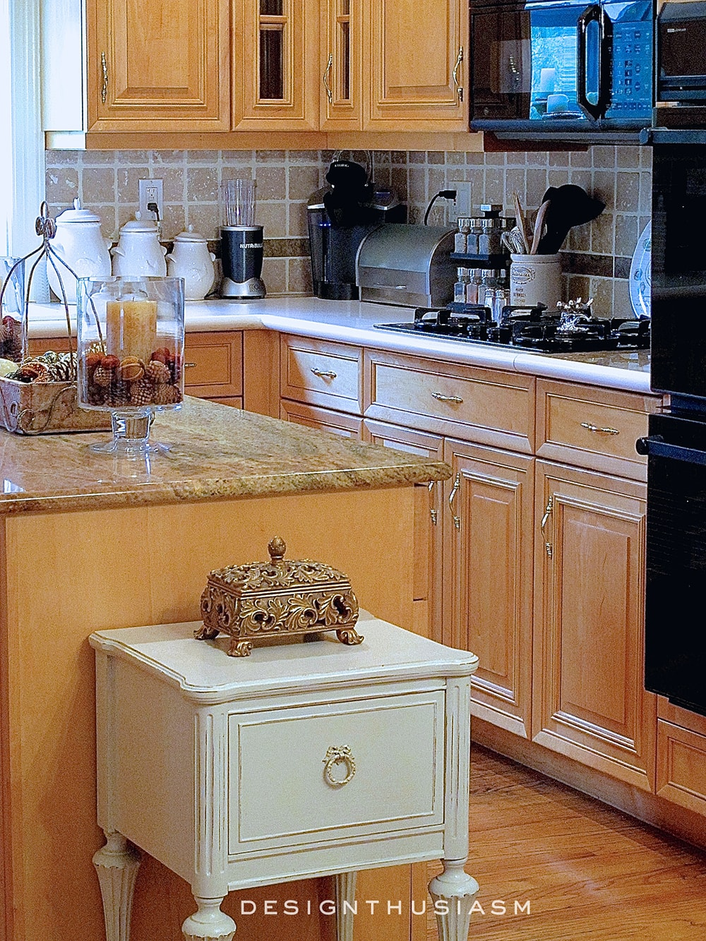 Kitchen   Family House Tour   Designthusiasm.com