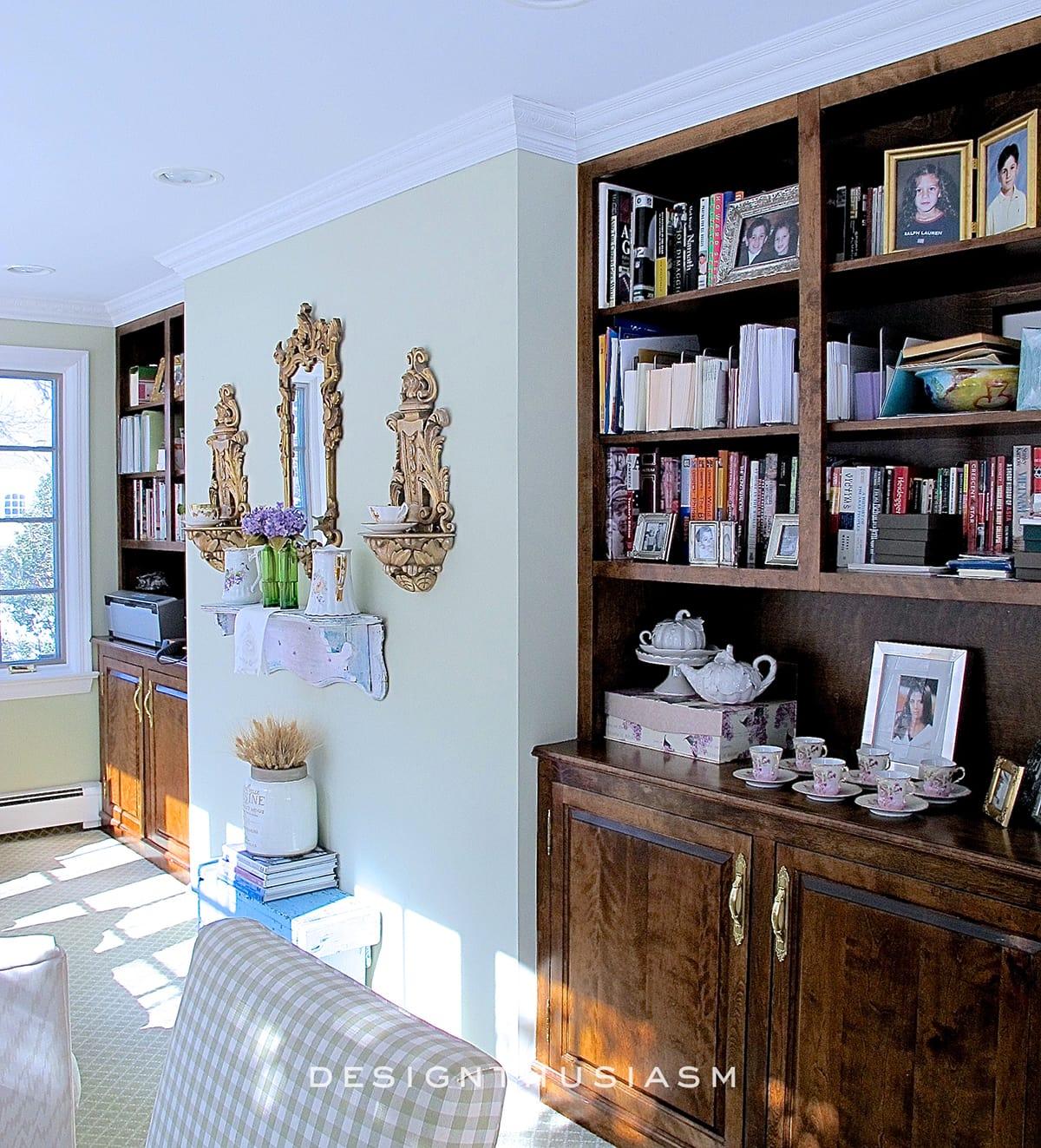 Library   Family House Tour   Designthusiasm.com