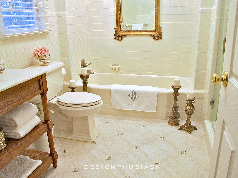 Main Bath   Family House Tour   Designthusiasm.com