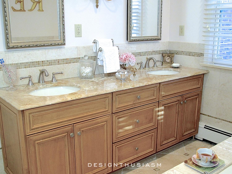 Master Bath   Family House Tour   Designthusiasm.com