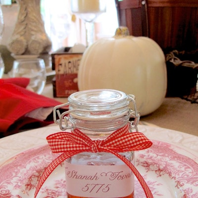 DIY Honey Jars for a Sweet New Year