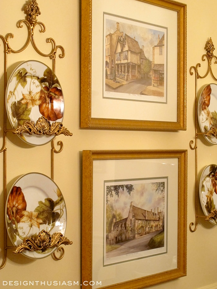 Autumn Warmth In Your Kitchen - Plate Racks