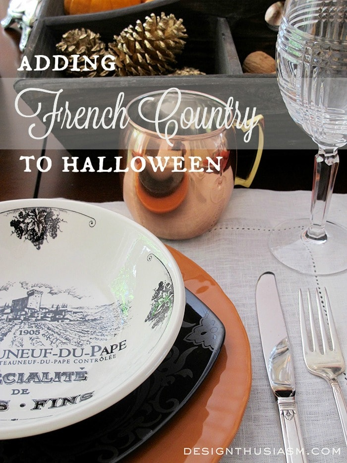 French Country Halloween - Designthusiasm.com