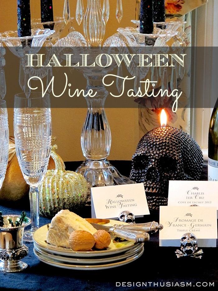 Halloween Wine Tasting