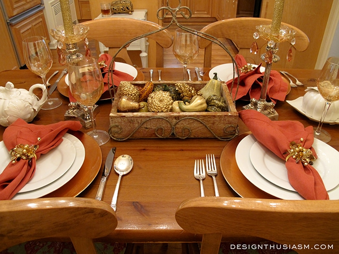 Special Weeknight Table Setting