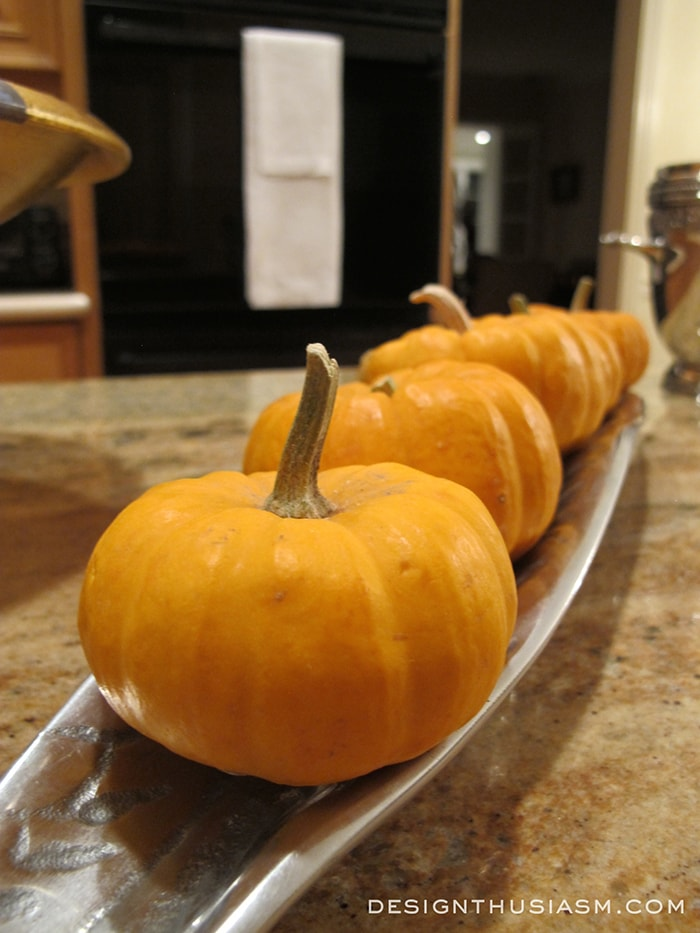 Special Weeknight Table Pumkins