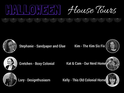 6 Bloggers Halloween House Tours