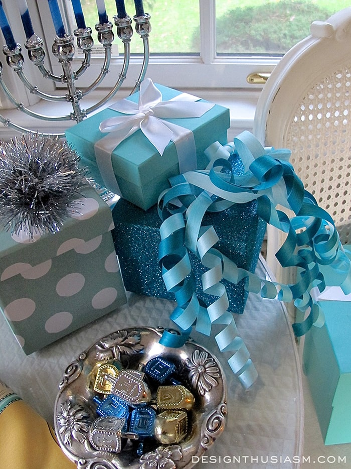 Tiffany Blue Hanukkah