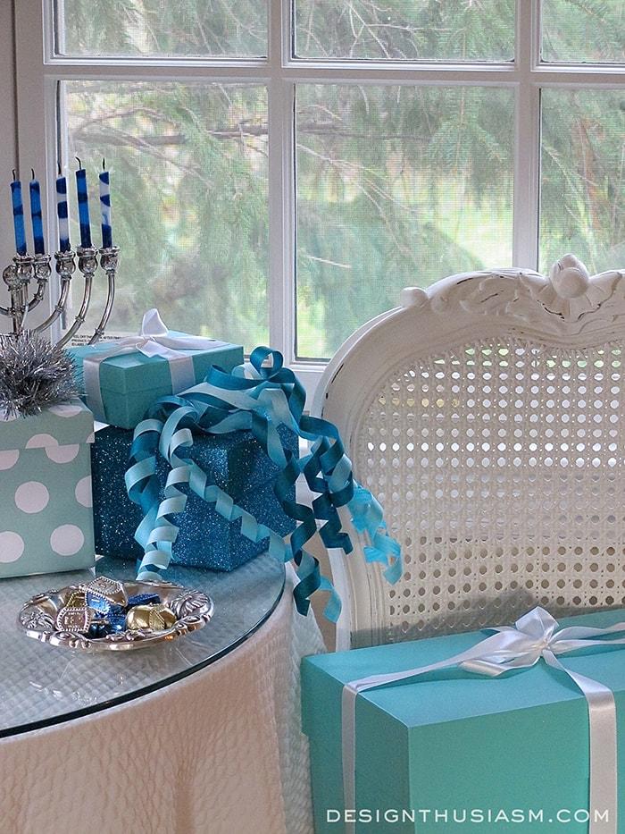 Tiffany Blue Hanukkah