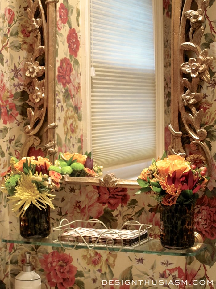 Creating a Guest-Ready Powder Room for Thanksgiving