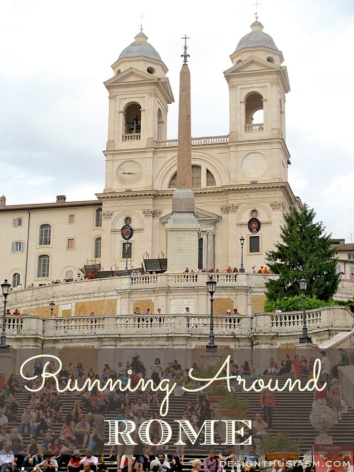 Running Around Rome