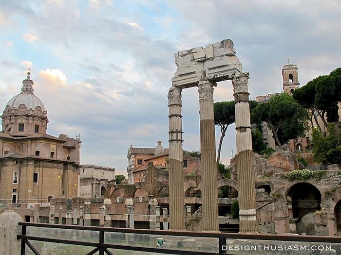Running Around Rome