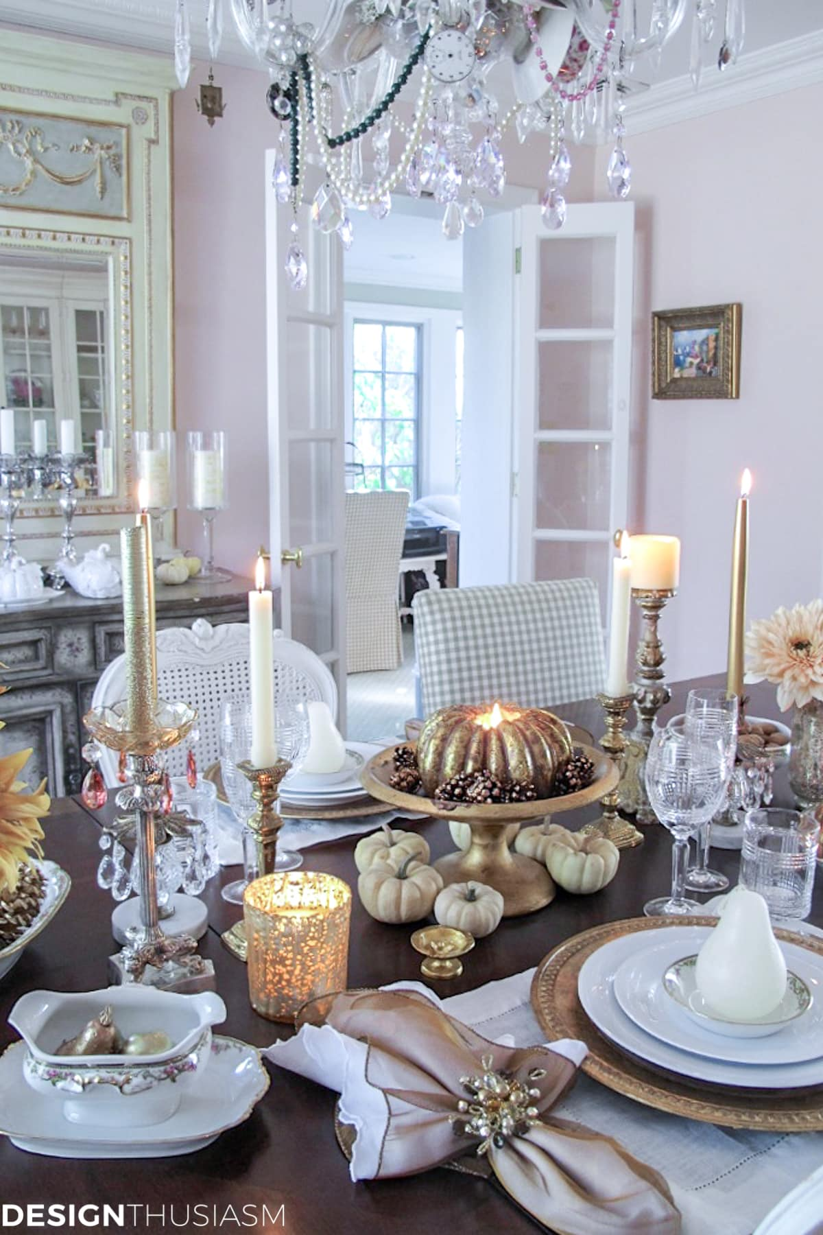 Fall Entertaining: A Romantic Thanksgiving Dinner for Two