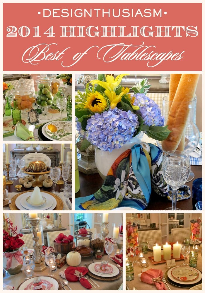 2014 Best of Tablescapes