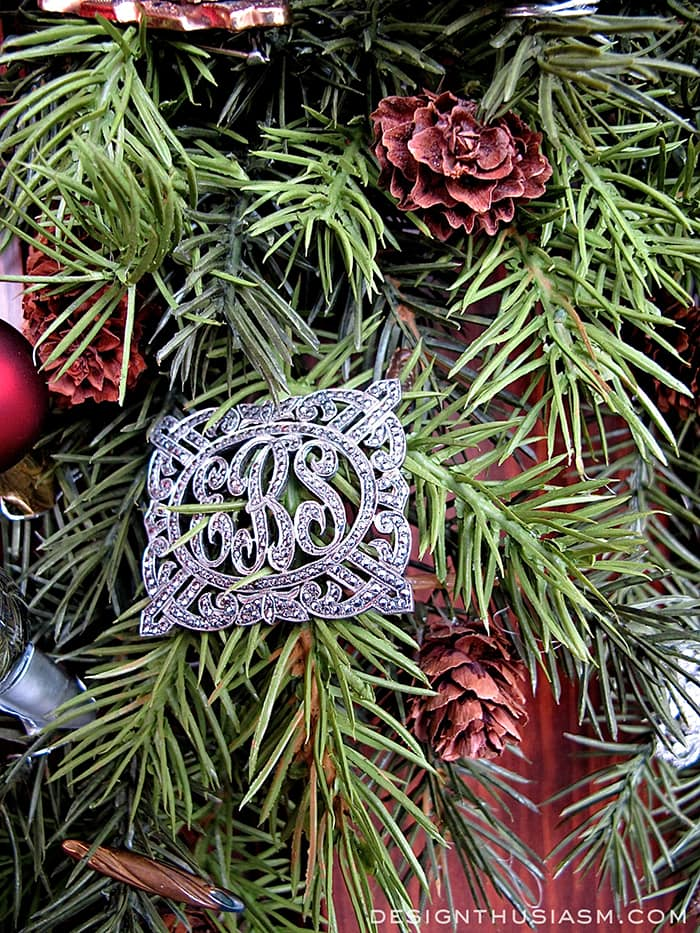 Bejeweled Greens for a Holiday Welcome