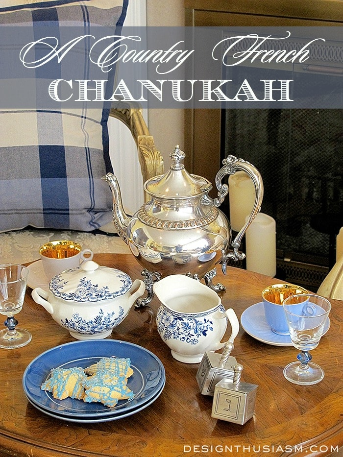 A Country French Chanukah Tea