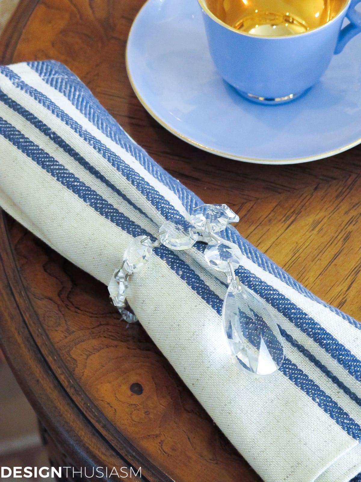 Country French Hanukkah Tea | Designthusiasm.com