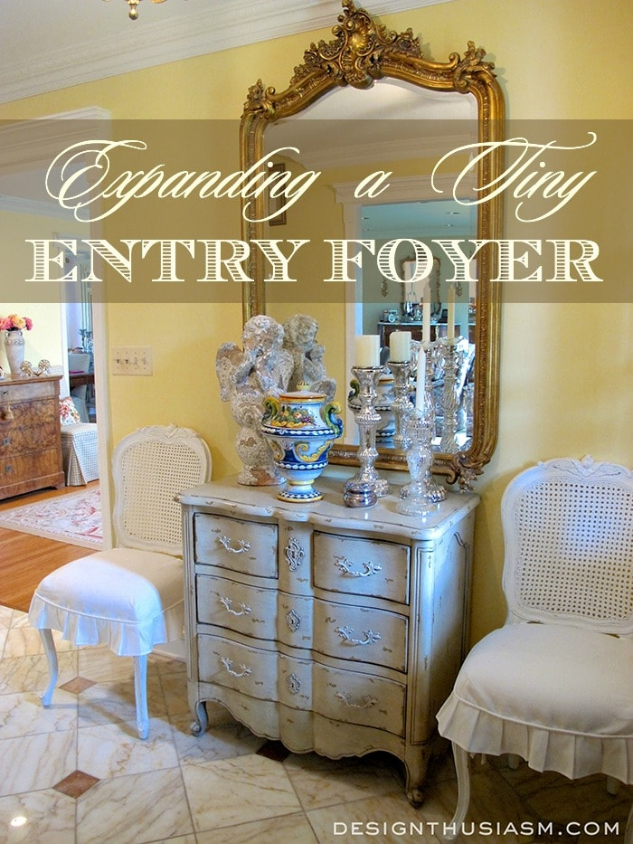 Expanding a Tiny Entry Foyer