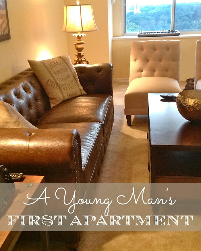 A Young Man's First Apartment