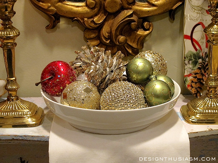 Holiday Mini Mantel