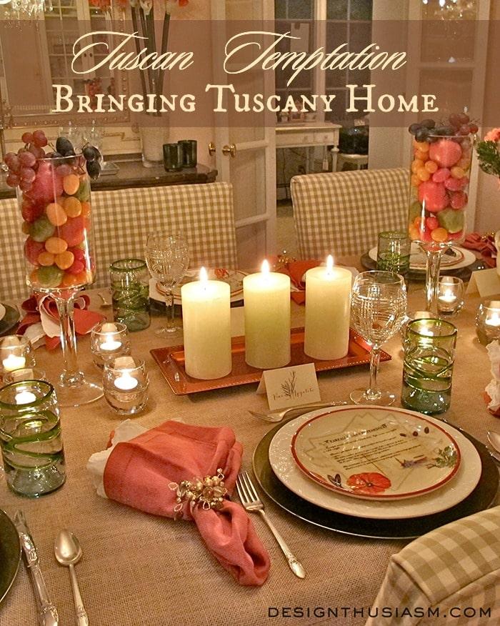 Tuscan Temptation