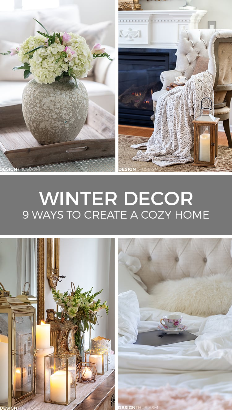 cozy winter decor from designthusiasm