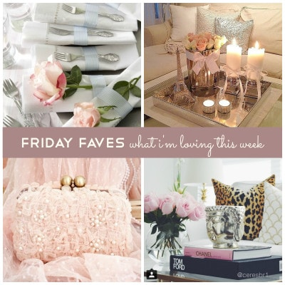 Friday Faves – Tiptoeing Towards Spring