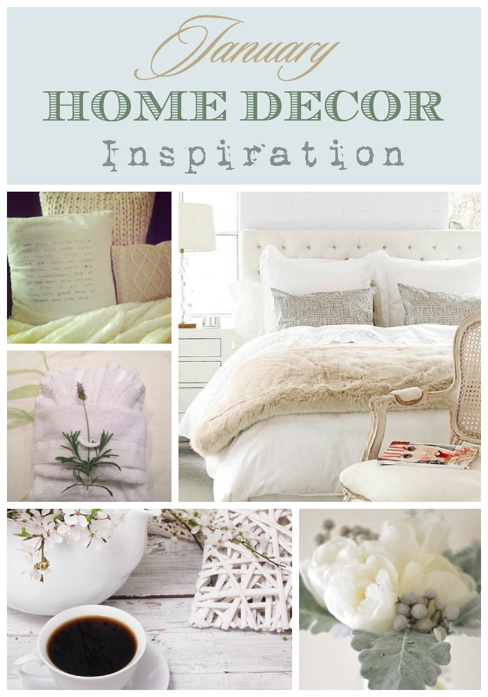 January Decor Inspiration